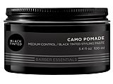 REDKEN BREWS POMADA CAMO BLACK TINTED 100 ML